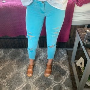 Gap colored skinny jean